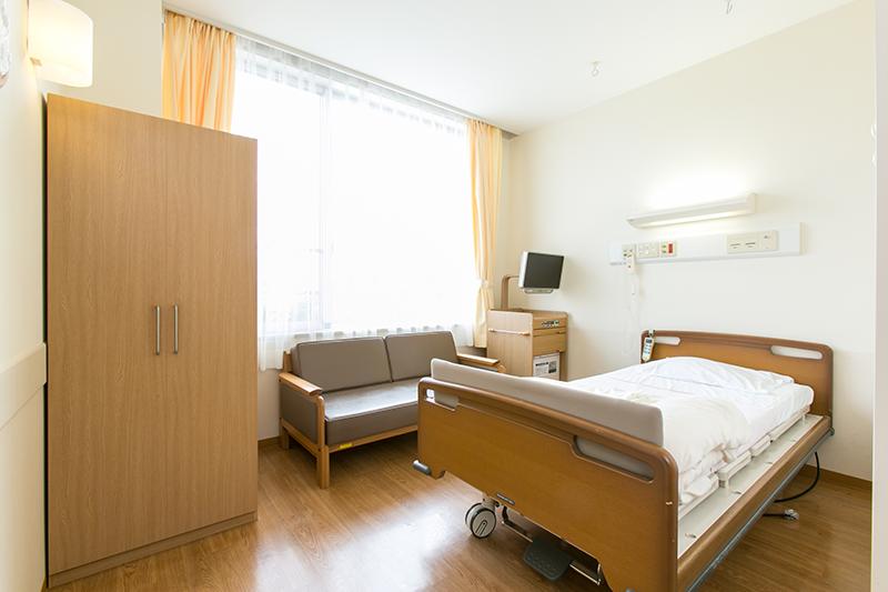 姫路聖マリア病院産科個室風景1